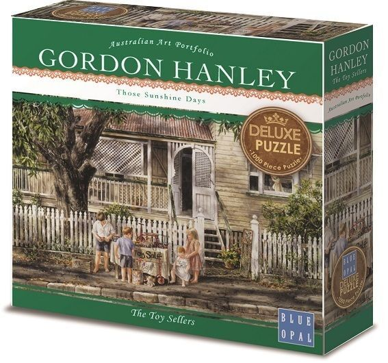 Image of Blue Opal Gordon Hanley The Toy Sellers Puzzle 1000pc