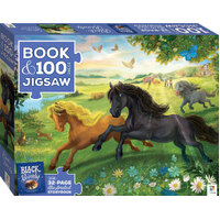 Hinkler - Black Beauty Book & Jigsaw Puzzle 100pc
