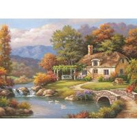 Anatolian - Cottage Stream Puzzle 1000pc