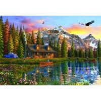 Anatolian - Old Log Cabin Puzzle 2000pc