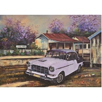 Blue Opal - Jenny Sanders Thirlmere Station Puzzle 1000pc
