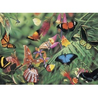 Blue Opal - Wild Australia Butterflies & Beetles Puzzle 100pc