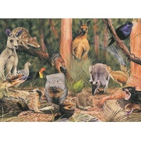 Blue Opal - Wild Australia On the Forest Floor Puzzle 200pc
