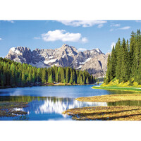 Castorland - Misurina Lake, Italy Puzzle 3000pc