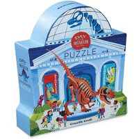 Crocodile Creek - Day at the Museum - Dinosaur Puzzle 48pc