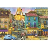 Educa - Paris Streets Puzzle 1500pc