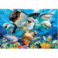 Educa - Under Water Selfie Puzzle 500pc