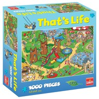 Goliath - That's Life - Kids Playground Puzzle 1000pc