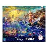 Ceaco - Kinkade Little Mermaid Puzzle 1500pc