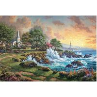 Ceaco - Kinkade Seaside Haven Puzzle 2000pc