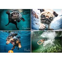 Cheatwell - Underwater Dogs Puzzle 1000pc