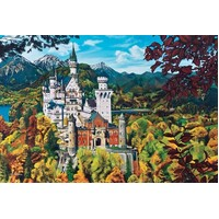 Cobble Hill - Neuschwanstein Castle Puzzle 2000pc