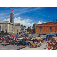 Cobble Hill - Farmer's Market Large Piece Puzzle 275pc