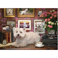 Cobble Hill - Westies Are My Type Puzzle 1000pc