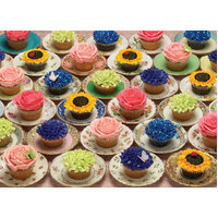 Cobble Hill - Cupcakes and Saucers Puzzle 1000pc