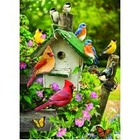 Cobble Hill - Summer Birdhouse Puzzle 1000pc