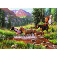 Cobble Hill - Mountain Thunder Puzzle 1000pc