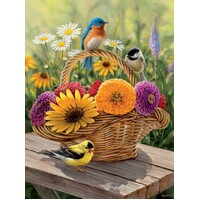 Cobble Hill - Summer Bouquet Large Piece Puzzle 275pc