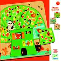 Djeco - Chez-nut Tree 3 Layer Puzzle