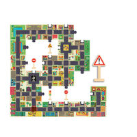 Djeco - City Road Puzzle 24 pce