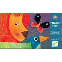 Djeco - Animal Parade Puzzle (36pce)