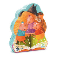 Djeco - The 3 Little Pigs Puzzle (24pce)