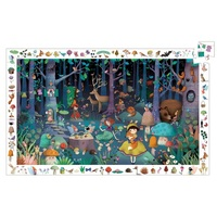 Djeco - Enchanted Forest Observation Puzzle 100pc