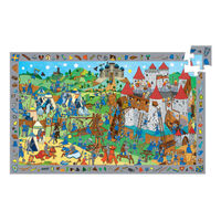 Djeco - Knights Observation Puzzle 54 pieces