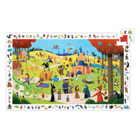 Djeco - Tales Observation Puzzle 54 pieces