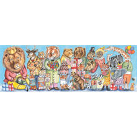 Djeco - King Party Puzzle 100pc