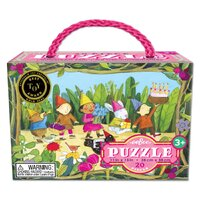 eeBoo - Birthday Parade Puzzle 20pc