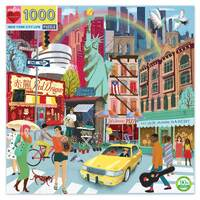 eeBoo - New York City Life Puzzle 1000pc