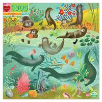 eeBoo - Otters Puzzle 1000pc
