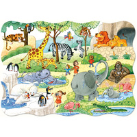 Castorland - At the Zoo Maxi Puzzle 20pc
