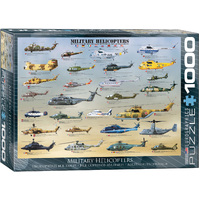 Eurographics - Military Helicopters Puzzle 1000pc