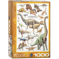 Eurographics - Dinosaurs Jurassic Period Puzzle 1000pc