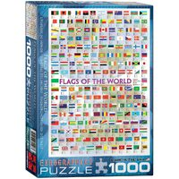 Eurographics - Flags of the World Puzzle 1000pce