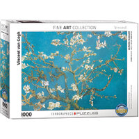 Eurographics - Van Gogh Almond Tree Branches Puzzle 1000pce