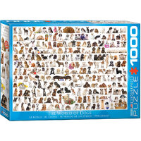 Eurographics - World of Dogs Puzzle 1000pc