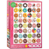 Eurographics - Donut Tops Puzzle 1000pc
