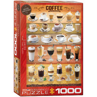 Eurographics - Coffee Puzzle 1000pce