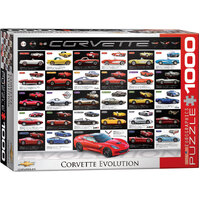 Eurographics - Corvette Evolution Puzzle 1000pc