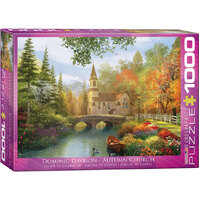 Eurographics - Autumn Church Puzzle 1000pc