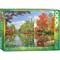 Eurographics - Lakeside Reflections Puzzle 1000pc