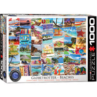 Eurographics - Globetrotter Beaches Puzzle 1000pc
