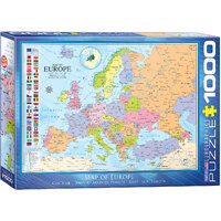 Eurographics - Map of Europe Puzzle 1000pc