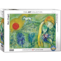 Eurographics - Chagall, The Lovers of Vence Puzzle 1000pc