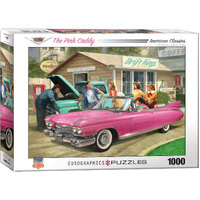 Eurographics - The Pink Caddy Puzzle 1000pc