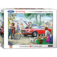 Eurographics - The Red Pony Puzzle 1000pc