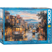 Eurographics - San Francisco Cable Car Puzzle 1000pc
